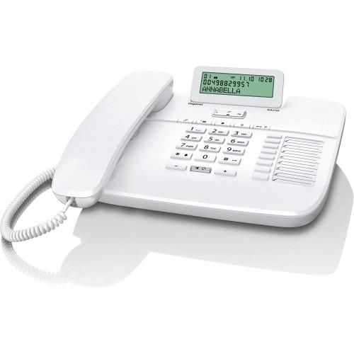 Телефон Gigaset DA710 білий з монохромним дисплеєм