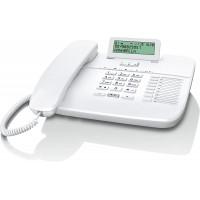 Телефон Gigaset DA710 белый с монохромным дисплеем