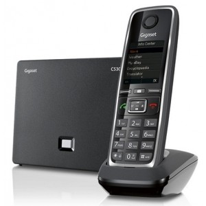 Радіотелефон IP DECT Gigaset C530 IP Black